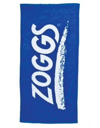 ZOGGS - TELO MARE - LOGO - 300621 - BLUE - SPUGNA 140x70cm